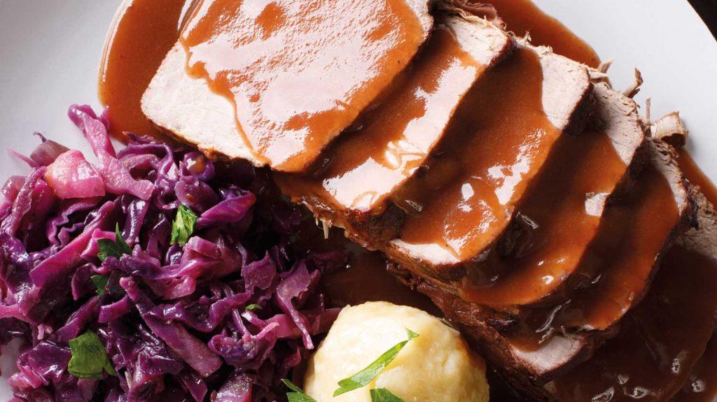 Kulinarische Deutschlandreise: Der Sauerbraten.