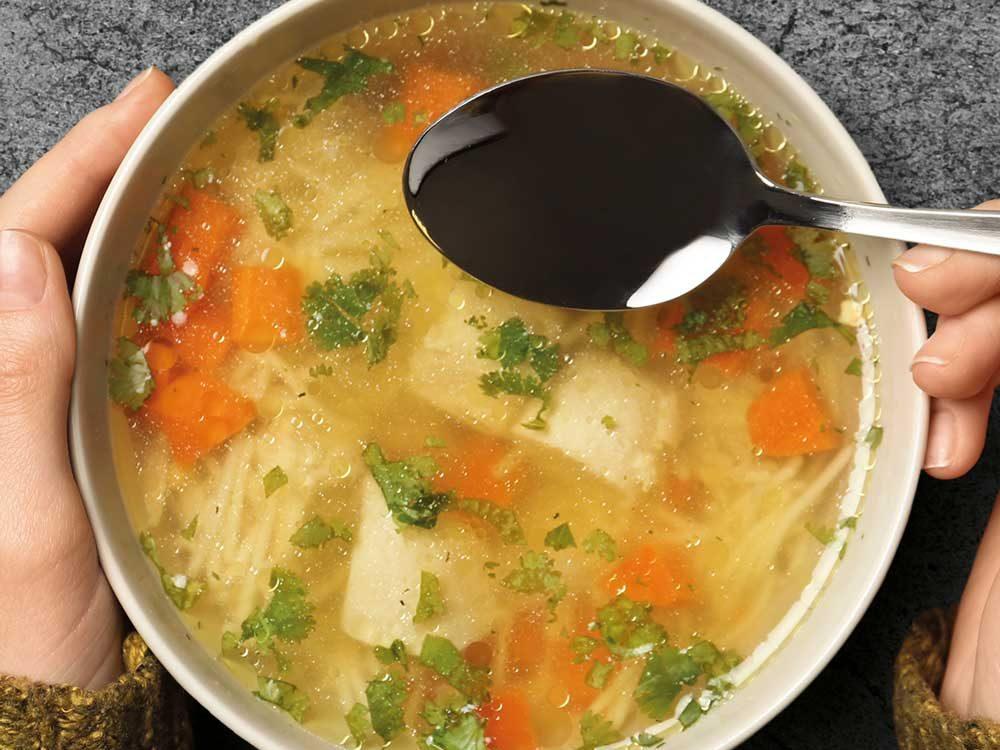 Suppen für ungemütliche Tage…