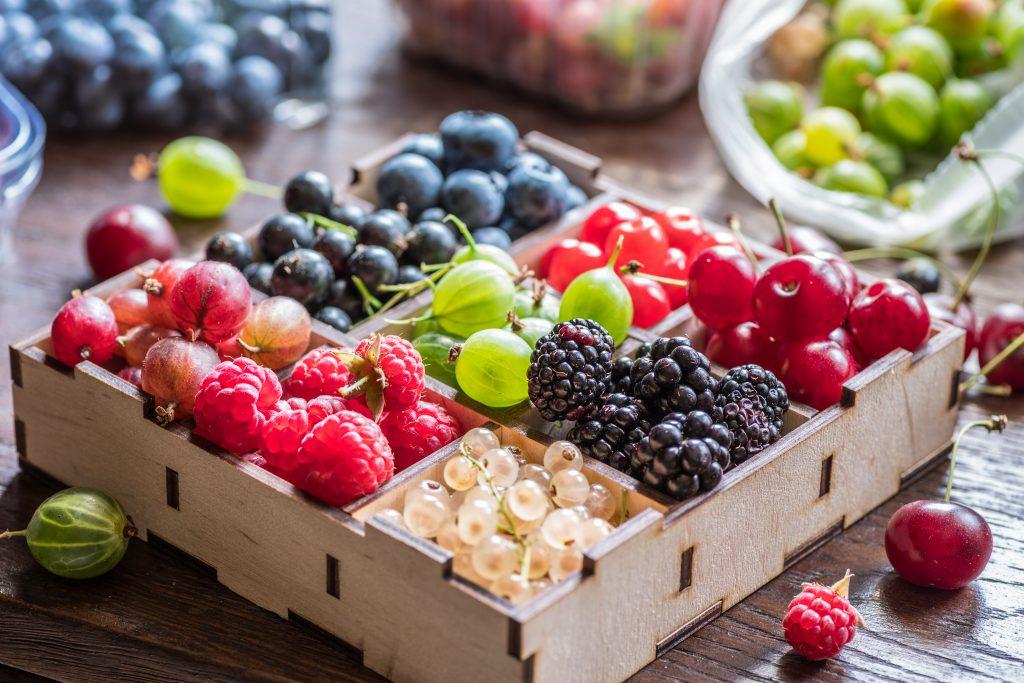 Fruchtiger Fleischgenuss